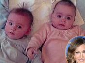 Sarah Jessica Parker présente jumelles David Letterman
