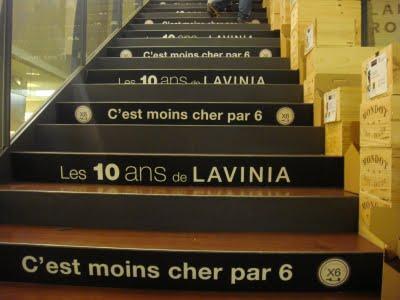 Lavinia à Paris, un magasin de vins séduisant