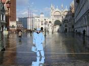 vitrines Noël d'Hermès Venise Italie