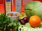 Salade chou cabus blanc