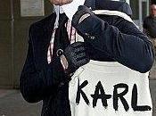 Karl Lagerfeld fait l'autodérision