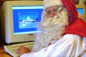 Le Père Noël et ses emails