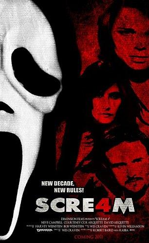 poster Scream4ConceptPosterV 1 by Mr Rabba