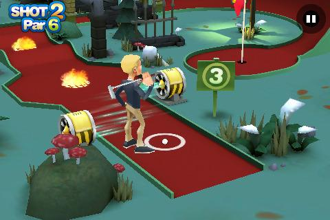 [Application IPA] Exlusivité EuroiPhone : 3D Mini Golf Challenge 1.0.4