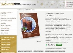 Wonderbox à commander en ligne