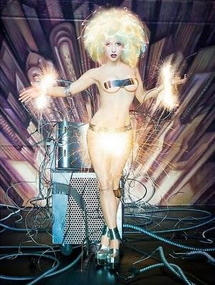 LADY GAGA BY DAVID LACHAPELLE