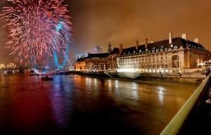 Londres Nouvel An 2008
