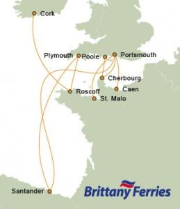 Brittany Ferries Carte