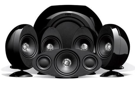 Système audio Kef KHT3005SE-W