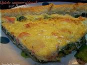 Quiche saumon-épinard Bousin