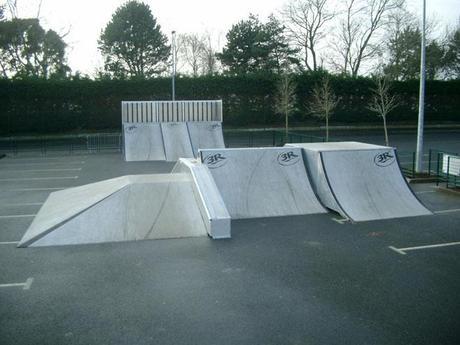 Spot : le skatepark de Ploufragan (22)