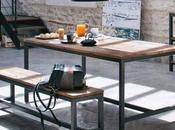 grande table banc contre