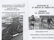 Vétathlon Saint-Martin Sanzay (79) dimanche janvier 2010