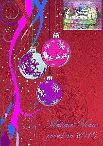 Bonne Annee Et Joyeux Anniversaire 43 Acrostiche Veronique