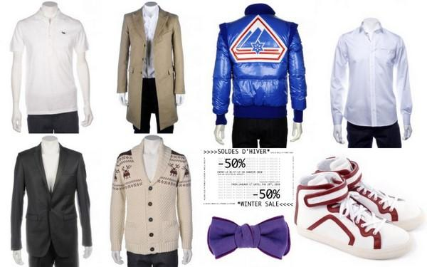 Post image for Sélection -50% chez studiohomme : Pierre Hardy, Alexis Mabille, Commune de Paris, Melinda Gloss, Kitsuné…
