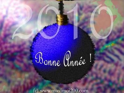 Débutons 2010 avec pleins de bons voeux...