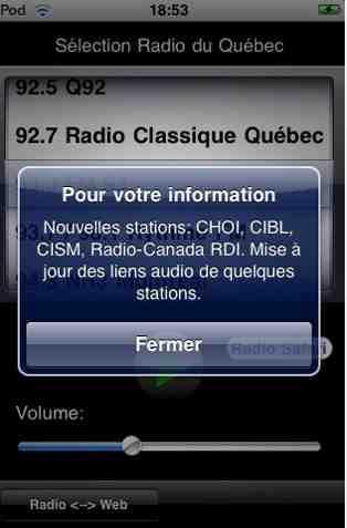 Sélection Radio du Québec