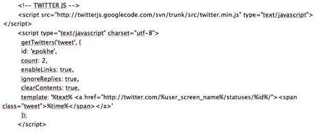 Script Twitter