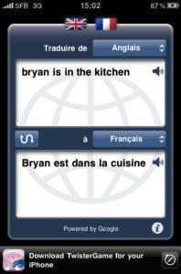 Traductions faciles et rapides avec iTranslate sur iPhone
