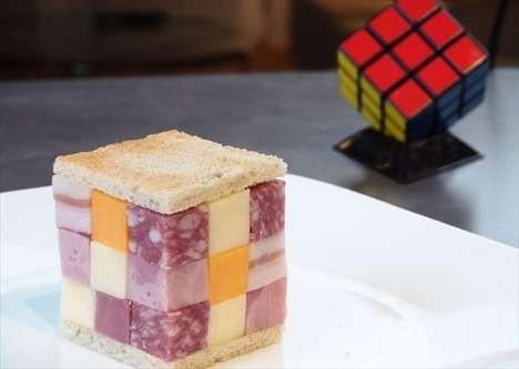 Un rubik\'s cube à manger ca prend moins la tête ! | À Voir