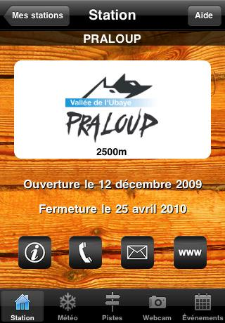 [Application IPA] EuroiPhone: Ski Montagne 1.0