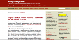 Le journal en ligne de Jacques-Olivier Teyssier