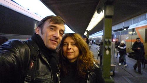31/12/2009Last 9:9 picture on the gate of the Bercy railw...