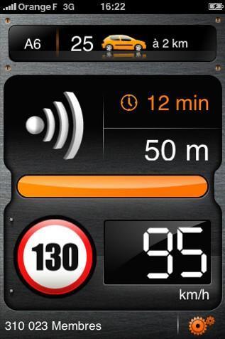 Alertes Radars avec l'iPhone
