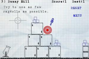 Ragdoll Blaster un jeu canon sur iPhone