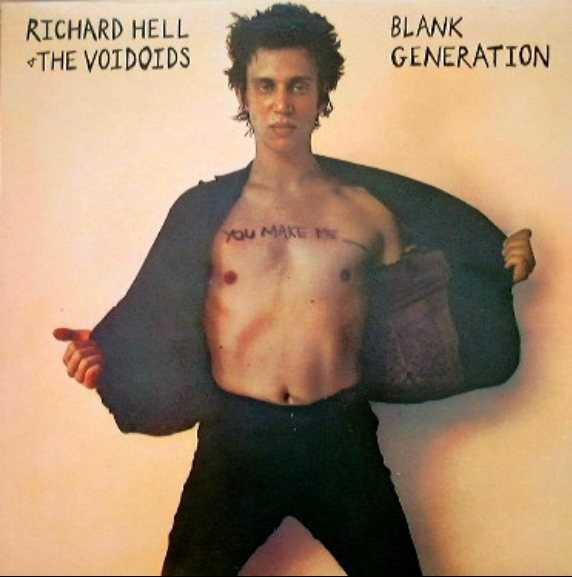 "RICHARD HELL ::: ""Planque generation"""