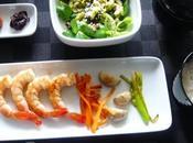 Repas japonais plaisir gourmand janvier
