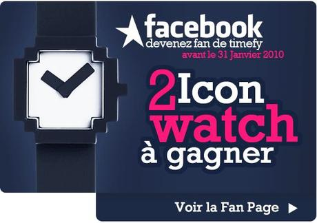 Concours Timeft - 2 montres Icon Watch à gagner