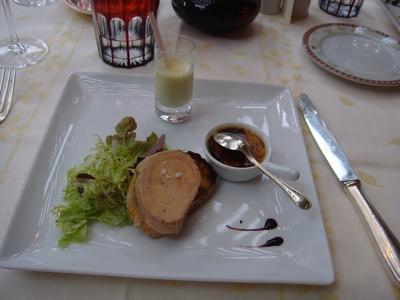 20091107 hostellerie des clos 03 trois foie gras 2009 : rétrospective  (ChrisoScope)