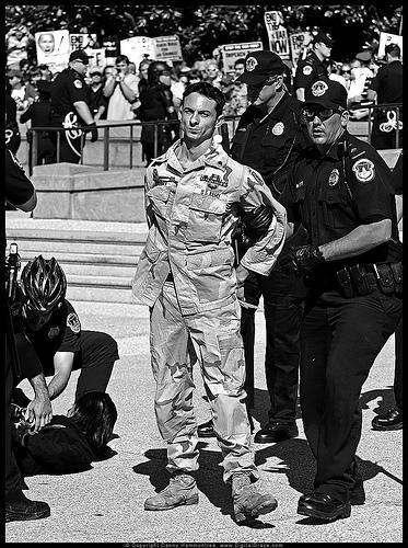 Mike Prysner, Washington DC en 2007