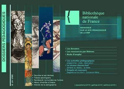 le site de la Bibliothèque Nationale de France