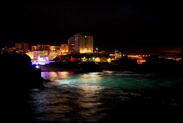 Happy new year in Biarritz