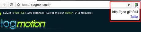 goo.gl extension google chrome #2 Découvertes du Web…