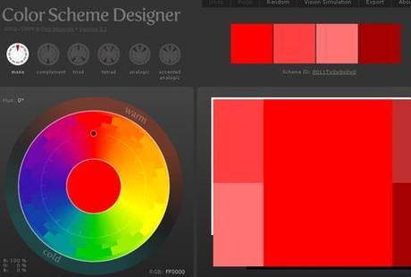 ColorSchemeDesigner #2 Découvertes du Web…