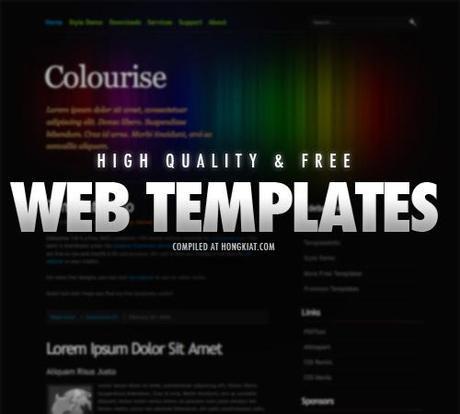 high quality web templates #2 Découvertes du Web…
