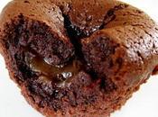Fondant mi-cuit chocolat coeur coulant crème marrons
