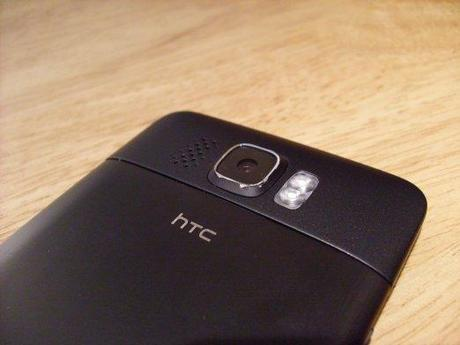 HTC HD 2 back