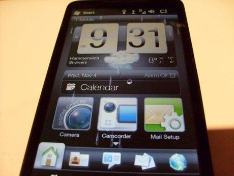 HTC HD 2 face