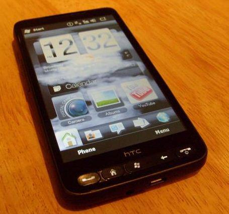 HTC HD 2 end