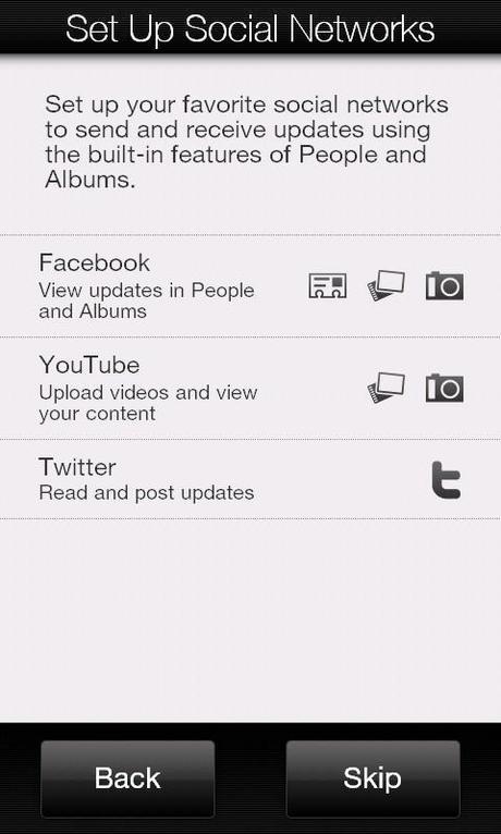HTC HD 2 screen 2