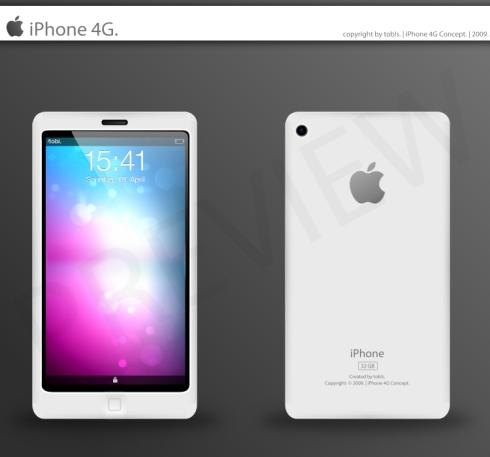 iPhone : Le 4G dispo en avril ?