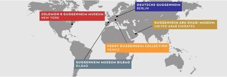 Musées Guggenheim à travers le monde