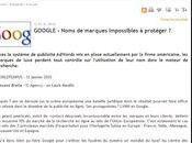 Protéger marque dans Google, bientôt luxe