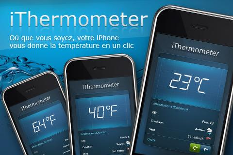 [Application IPA] MEGA Excusivité EuroiPhone : iThermomètre 1.8