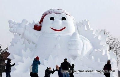 Harbin, sculptures sur glace