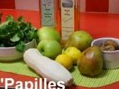 Salade pommes Granny poires Comice